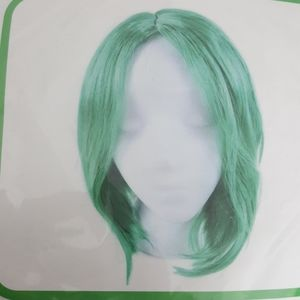 Green Wig, Halloween costume or dress up